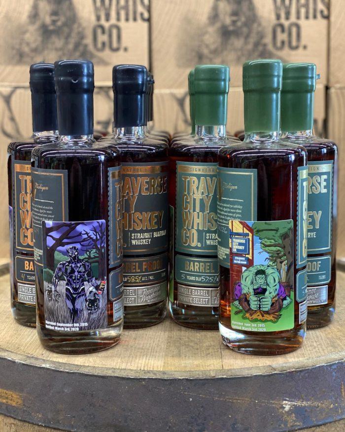 whiskey bottles Marvel