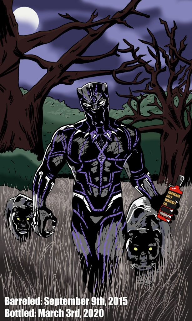 Black Panther whiskey