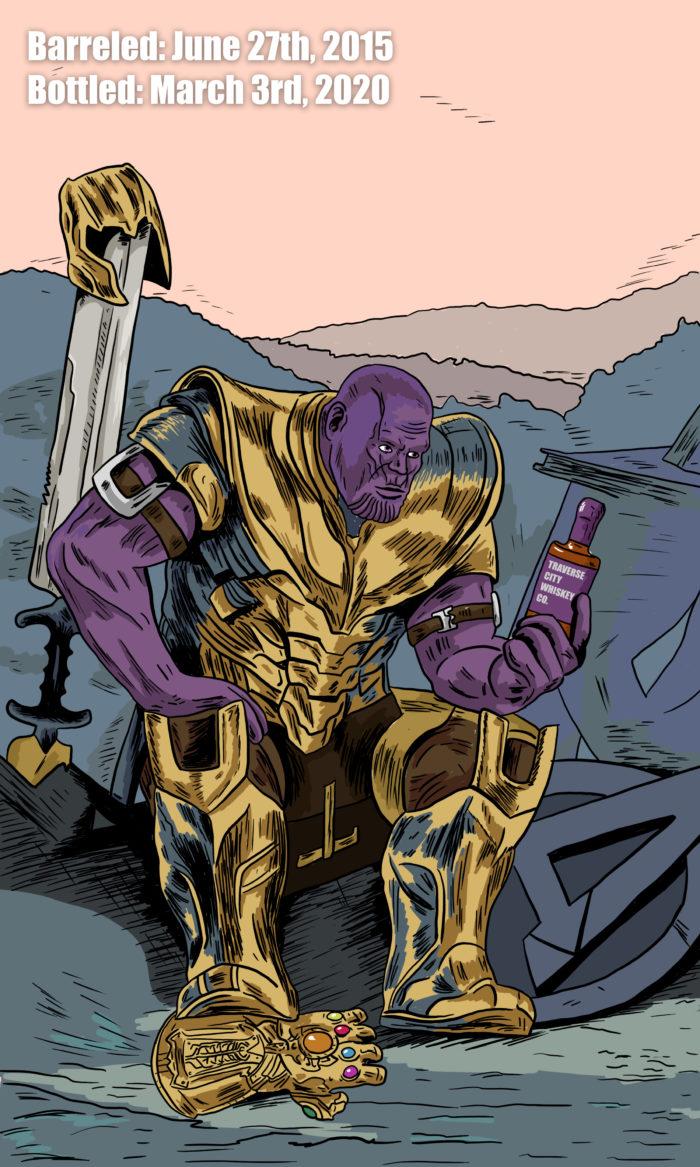 Thanos whiskey