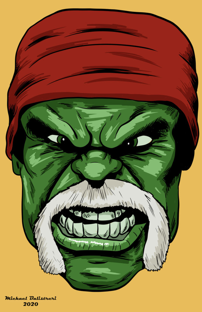 The Incredible Hulk Hogan