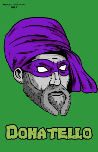 Donato di Niccolò di Betto Bardi as Ninja