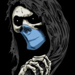 Grim Reaper Wearing Mask