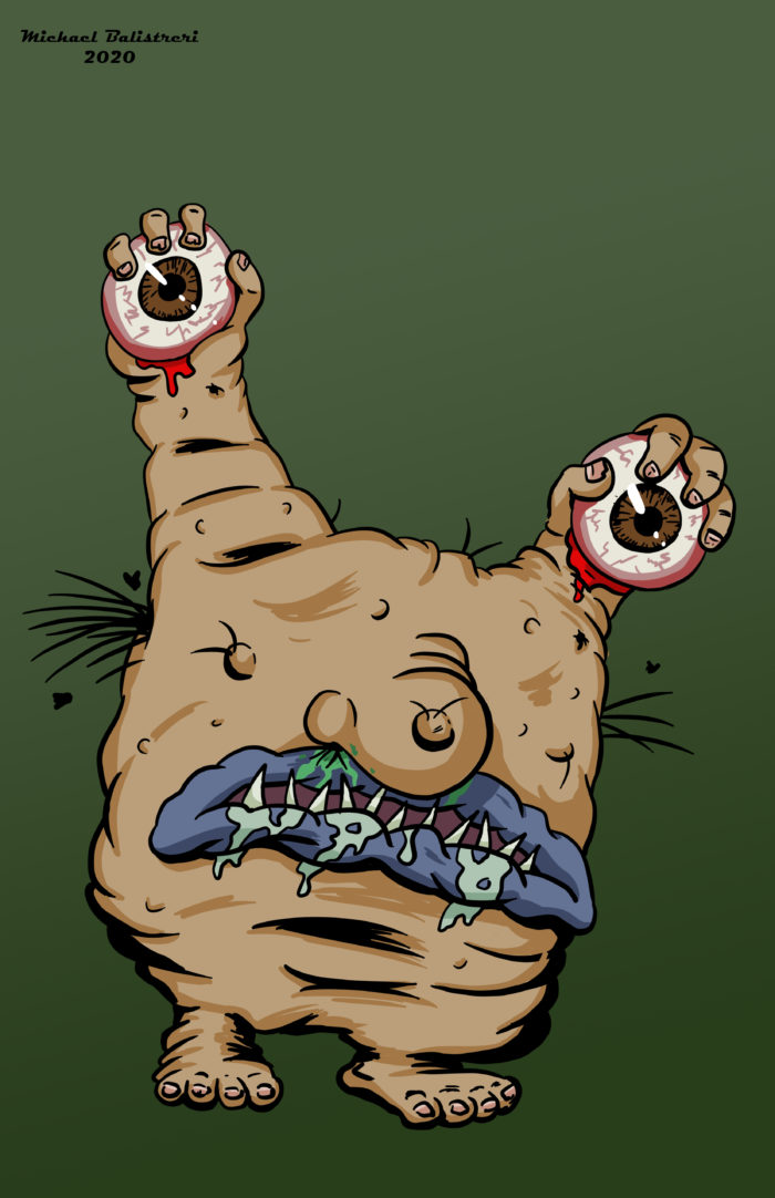 Krumm from Aaahh!!! Real Monsters