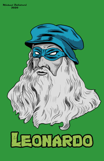 Leonardo da Vinci ninja