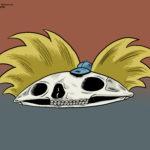 Hey Arnold Skull