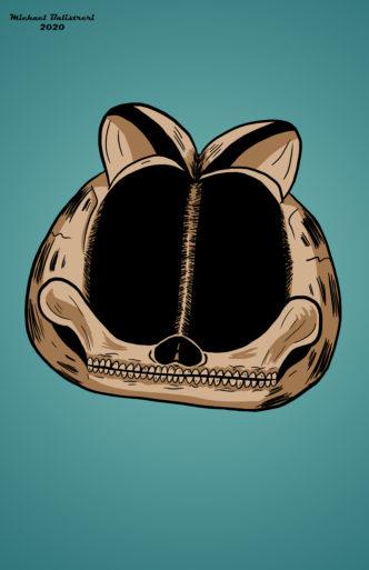 Garfield Skull