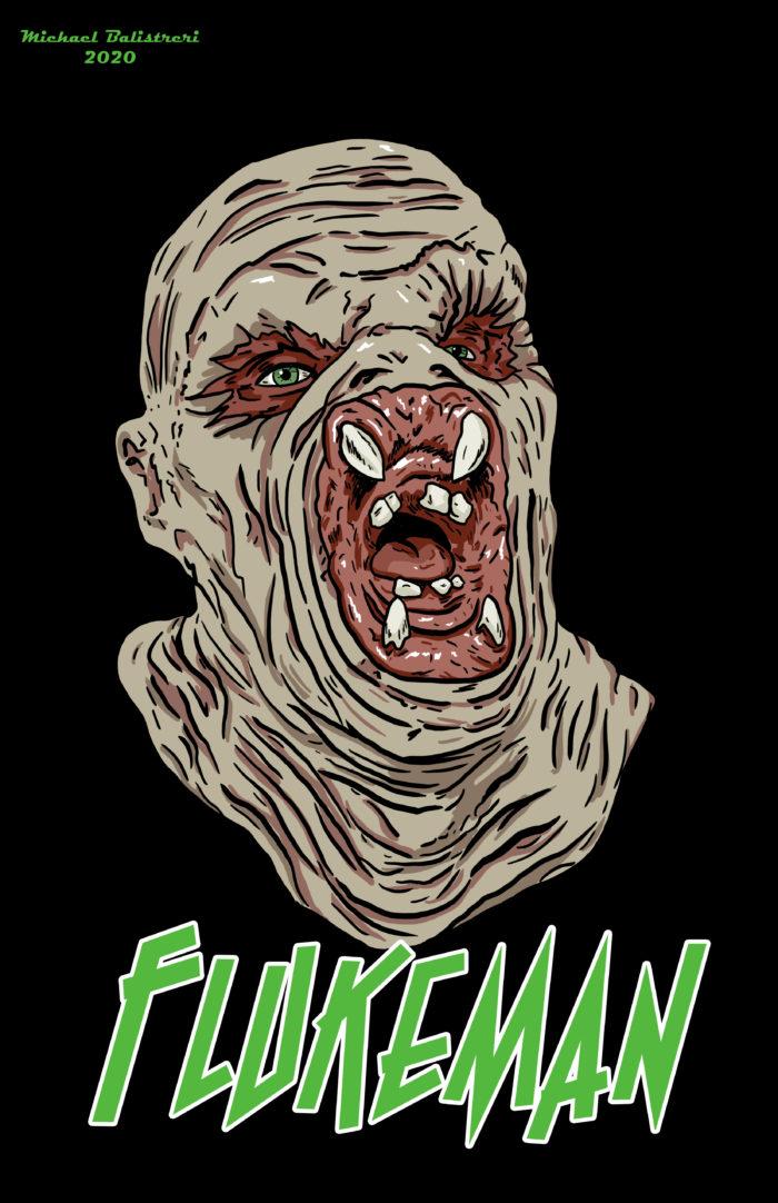 The Flukeman from X-Files