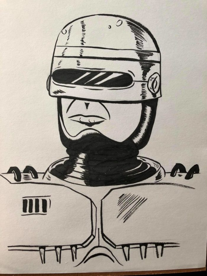 Inktober Day 14 Armor