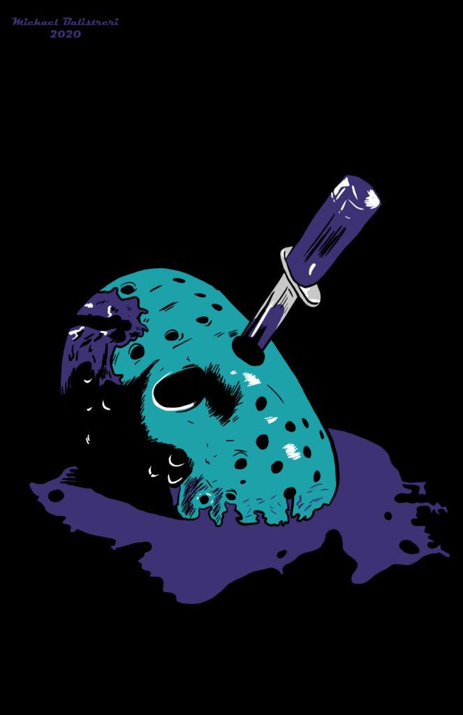 Jason Voorhees mask NES