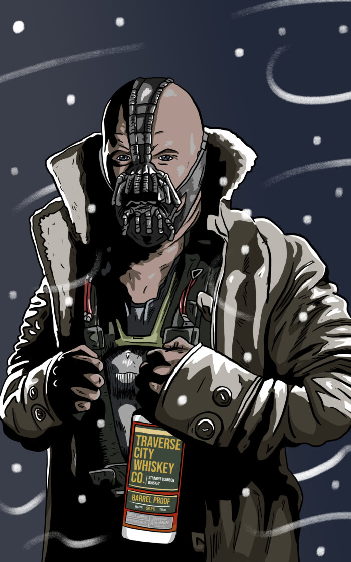 Bane Whiskey Label