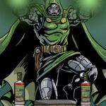 Dr. Doom Whiskey Label