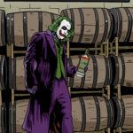 Joker Whiskey Label