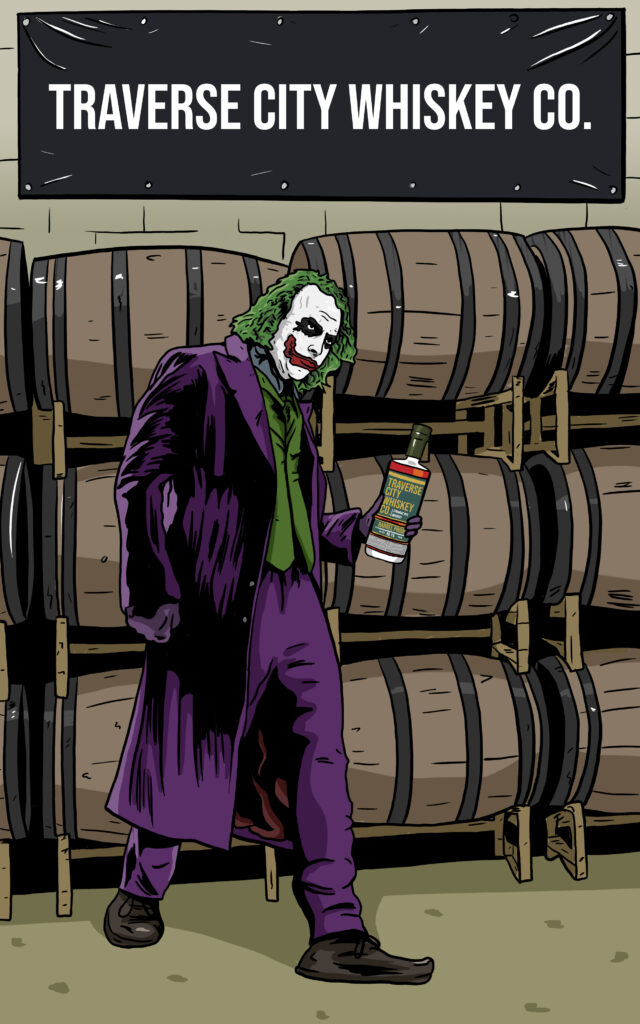 Joker Whiskey Label