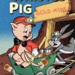 Porky Pig Comic Whiskey Label